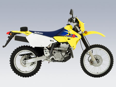 Suzuki DRz 400 tour bike