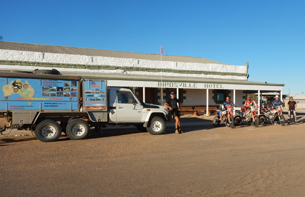 slide - Outback Pub Run via the Simpson Desert