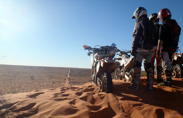 slide - Simpson Desert Motorcycle Tour 6-Day