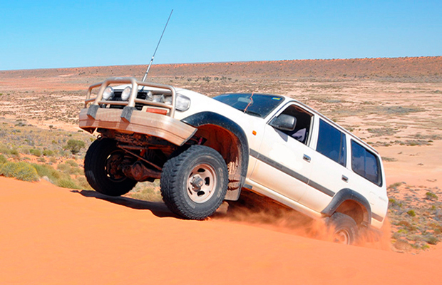 slide - Simpson Desert 4WD Tour 6-Day